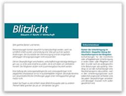 """""""Blitzlicht"""" 09/2019"""